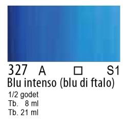 327 - W&N Cotman Blu intenso (blu ftalo)