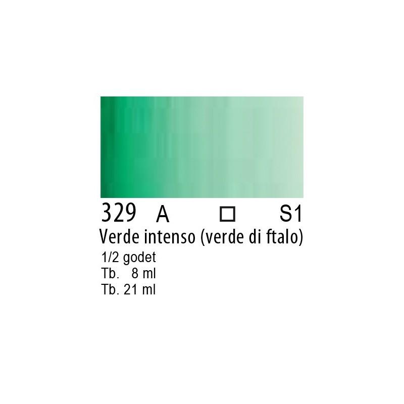 329 - W&N Cotman Verde intenso (verde ftalo)