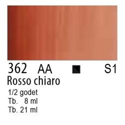 362 - W&N Cotman Rosso chiaro