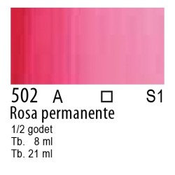502 - W&N Cotman Rosa permanente