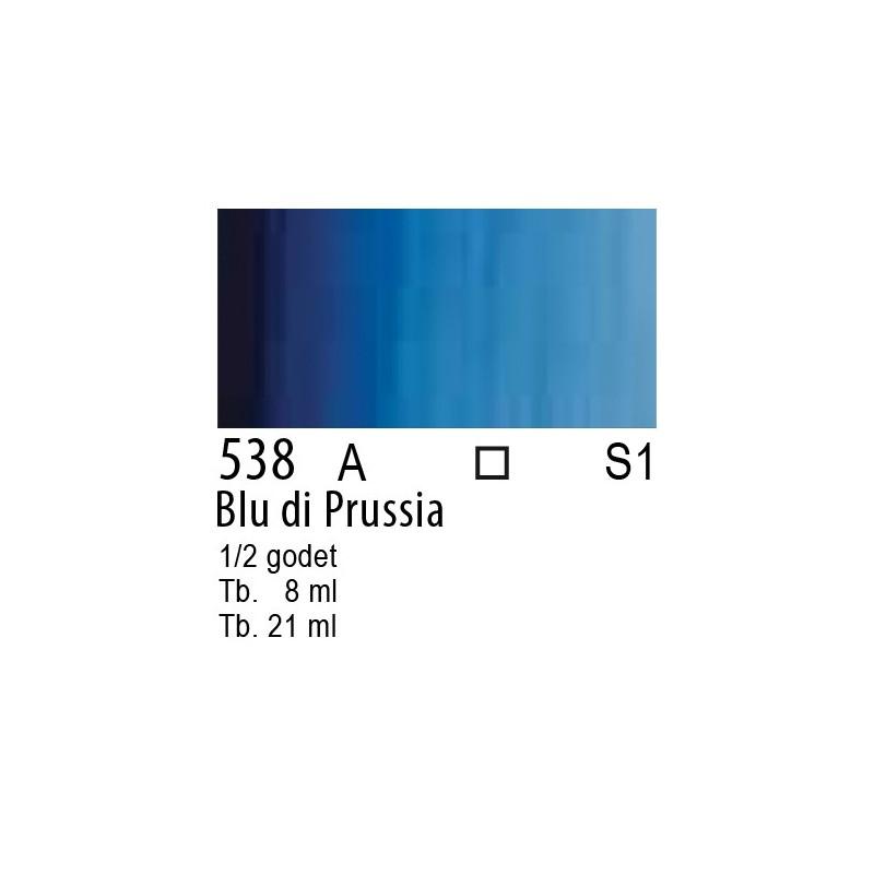 538 - W&N Cotman Blu di Prussia