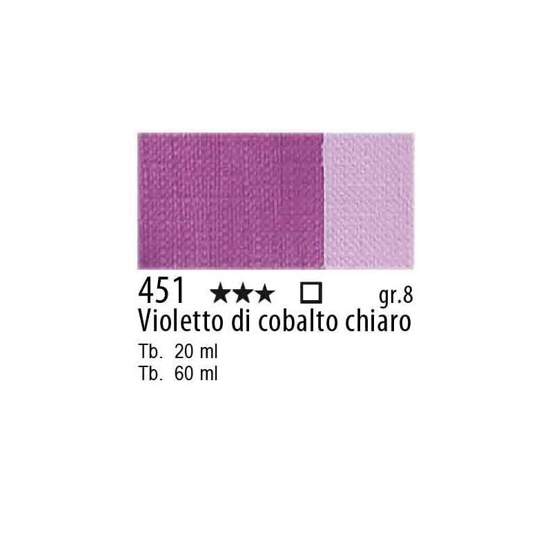 451 - Maimeri Olio Artisti Violetto di cobalto chiaro
