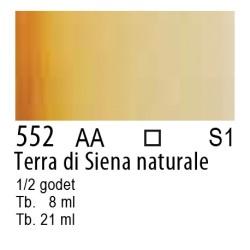 552 - W&N Cotman Terra di Siena naturale