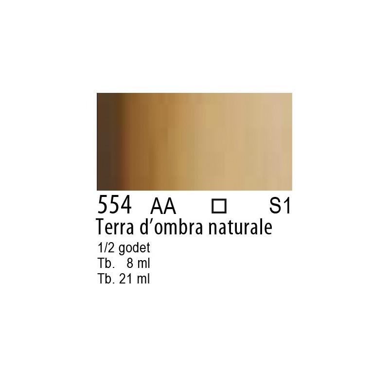 554 - W&N Cotman Terra d'ombra naturale