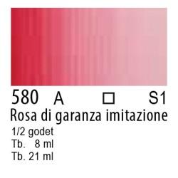 580 - W&N Cotman Rosa di garanza imit.