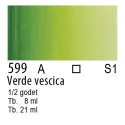 599 - W&N Cotman Verde vescica
