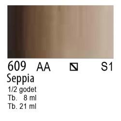 609 - W&N Cotman Seppia