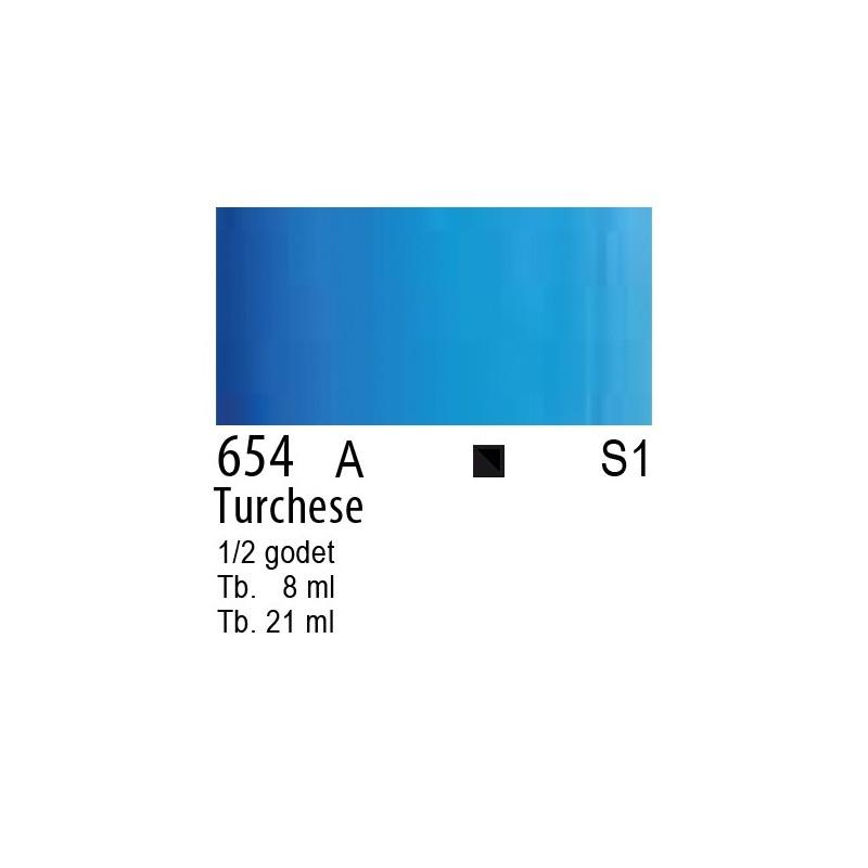 654 - W&N Cotman Turchese