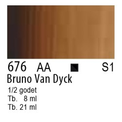 676 - W&N Cotman Bruno Van Dyck
