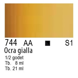 744 - W&N Cotman Ocra giallo
