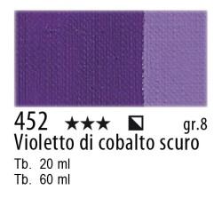452 - Maimeri Olio Artisti Violetto di cobalto scuro