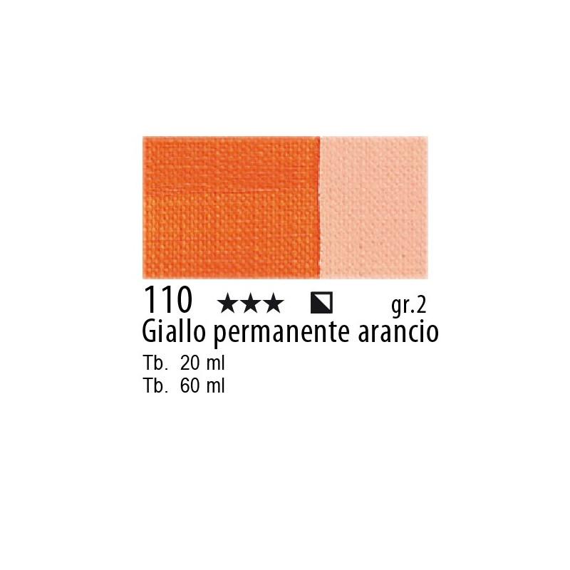 Maimeri Olio Classico Giallo permanente arancio