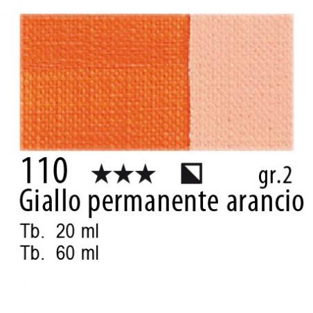 110 - Maimeri Olio Classico Giallo permanente arancio
