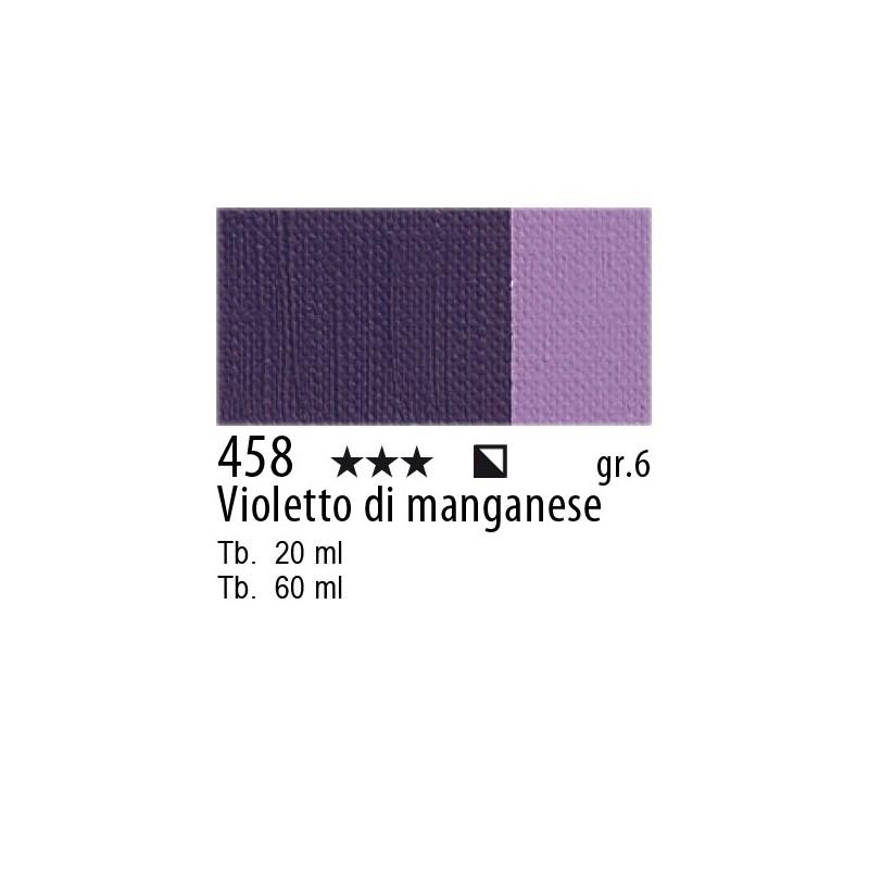 458 - Maimeri Olio Artisti Violetto di manganese
