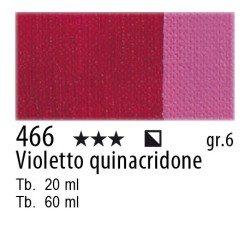 466 - Maimeri Olio Artisti Violetto quinacridone