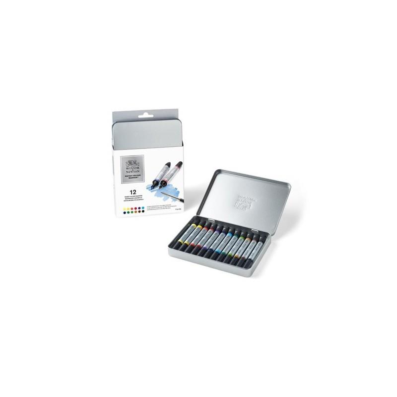 Winsor & Newton Confezione 12 pennarelli acquerello
