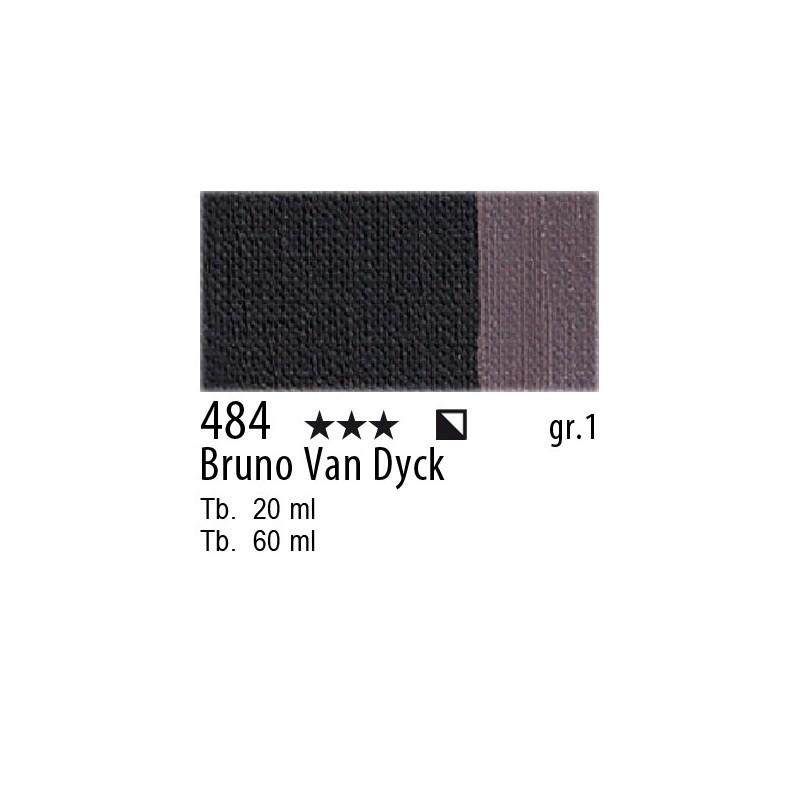 484 - Maimeri Olio Artisti Bruno Van Dyck
