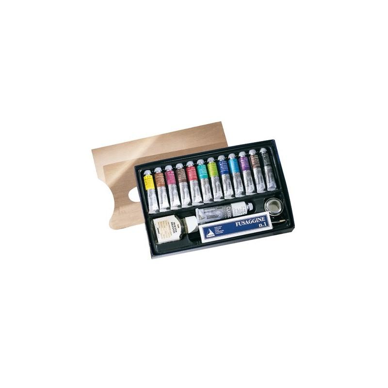 Maimeri Painting Set olio classico 12 tubi 20ml
