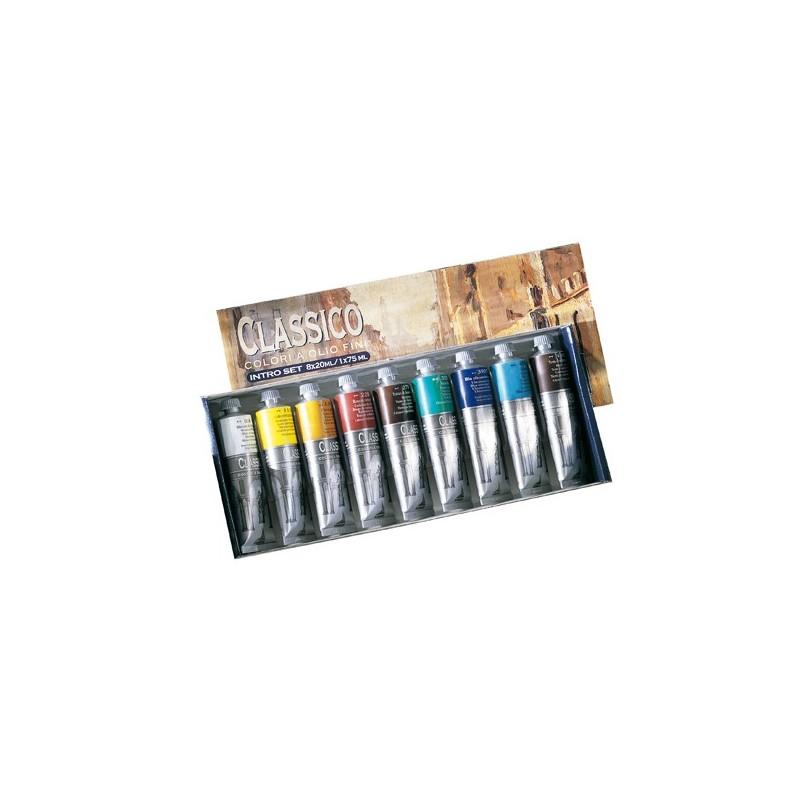 Maimeri Intro Set olio classico 9 tubi 60ml