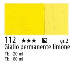 112 - Maimeri Olio Classico Giallo permanente limone
