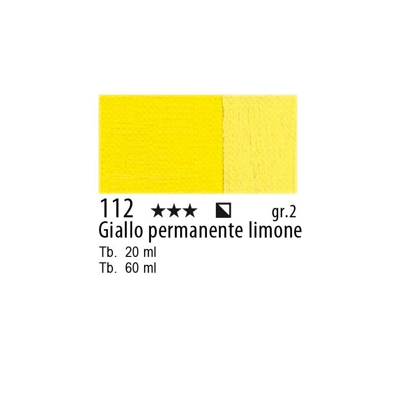Maimeri Olio Classico Giallo permanente limone