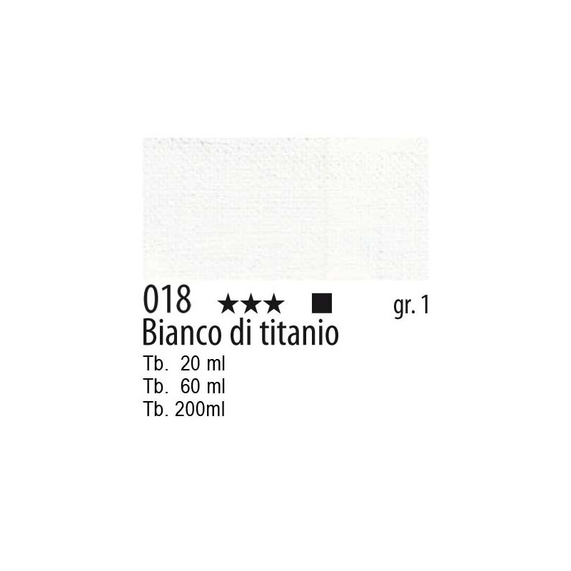 Maimeri Olio Classico Bianco di titanio