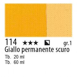 114 - Maimeri Olio Classico Giallo permanente scuro