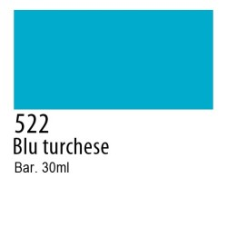 522 - Talens Ecoline blu turchese