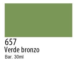 657 - Talens Ecoline verde bronzo