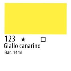 123 - Inchiostro colorato W&N Giallo canarino