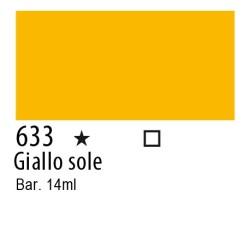 633 - Inchiostro colorato W&N Giallo sole