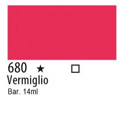 680 - Inchiostro colorato W&N Vermiglio