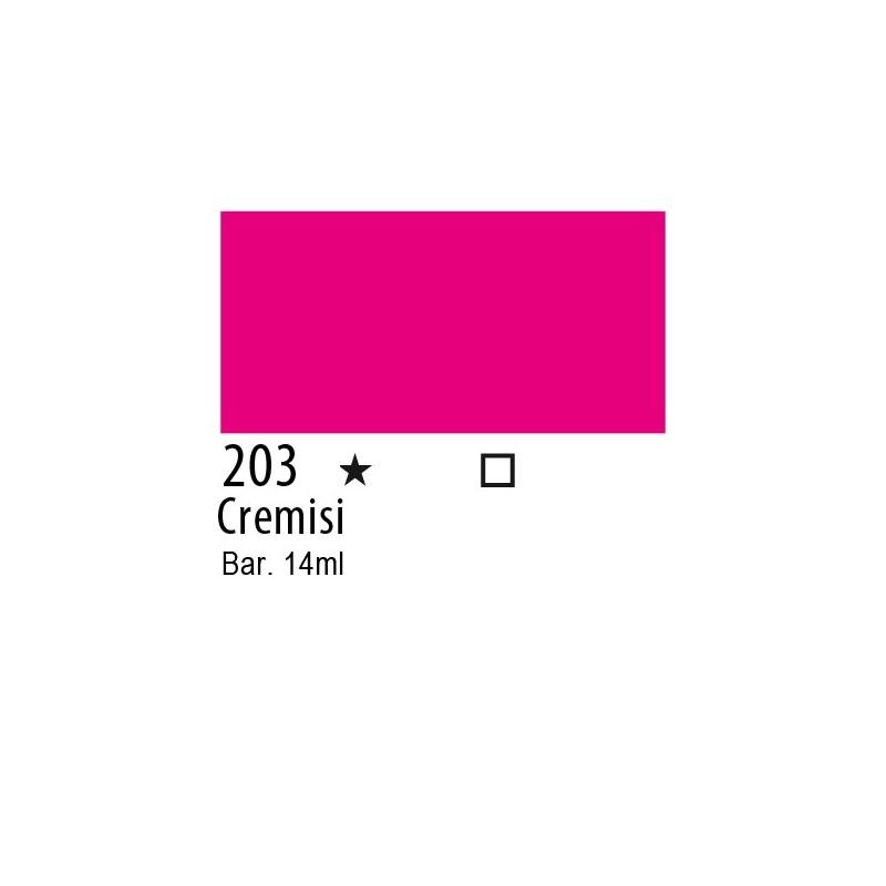 203 - Inchiostro colorato W&N Cremisi