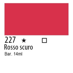 227 - Inchiostro colorato W&N Rosso scuro