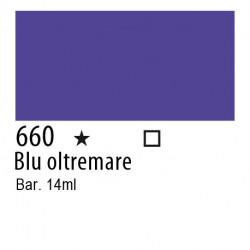 660 - Inchiostro colorato W&N Blu oltremare