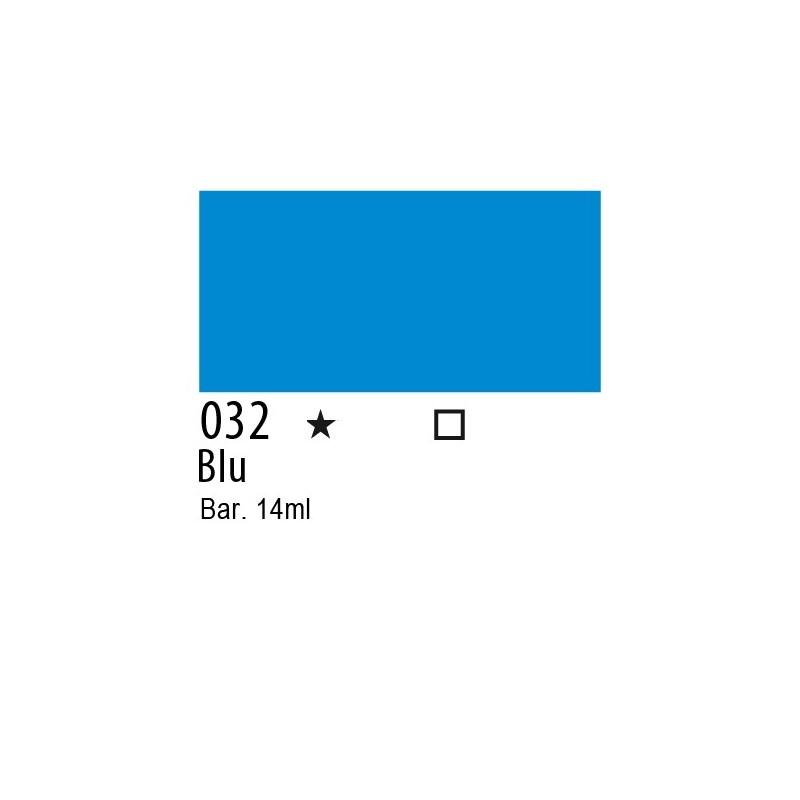 032 - Inchiostro colorato W&N Blu