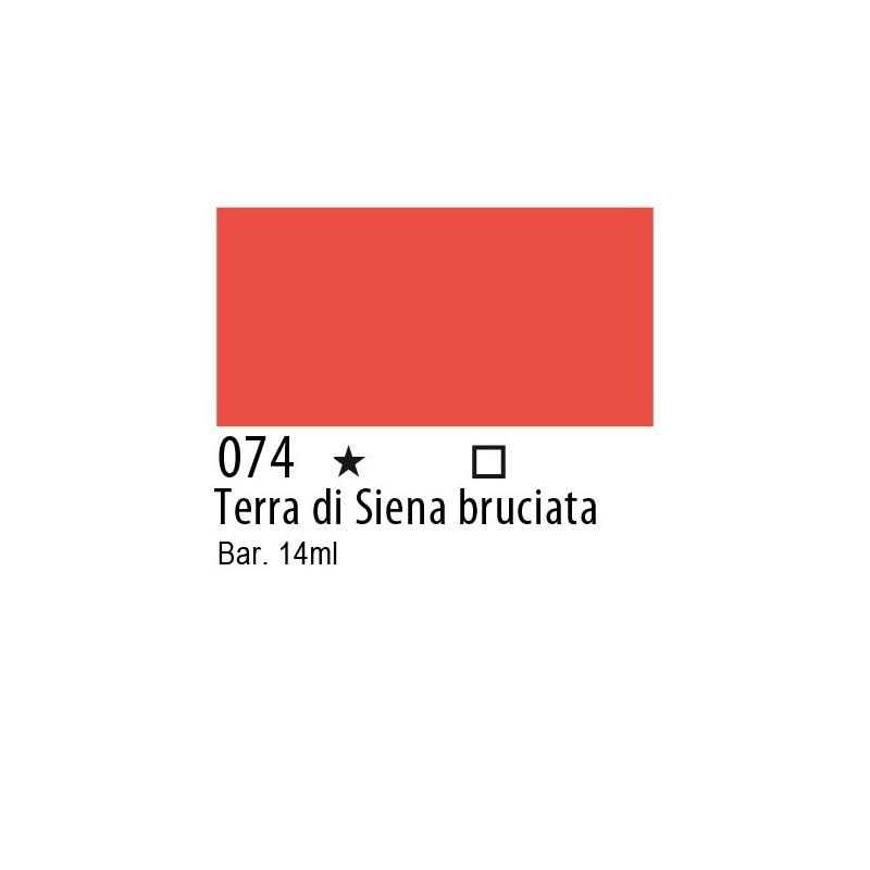 074 - Inchiostro colorato W&N Terra di Siena bruciata
