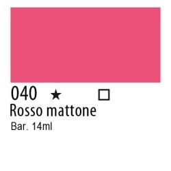 040 - Inchiostro colorato W&N Rosso mattone