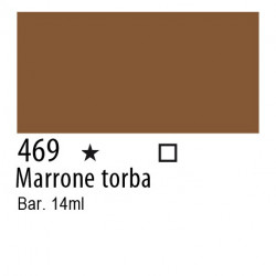 469 - Inchiostro colorato W&N Marrone torba