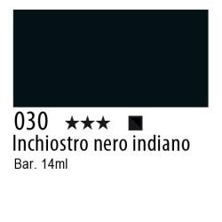 030 - Inchiostro colorato W&N nero indiano