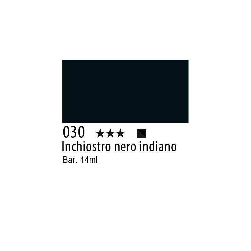 030 - Inchiostro colorato W&N Inchiostro nero indiano