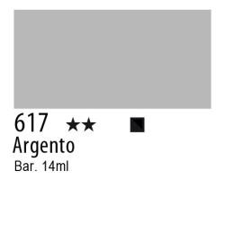 617 - Inchiostro colorato W&N Argento