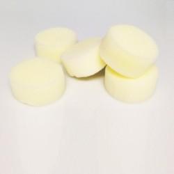 Confezione 5 spugne morbide tonde, diametro CM.6, spessore CM.3