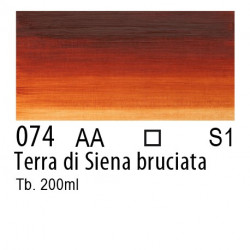 074 - W&N Olio Winton Terra di Siena bruciata