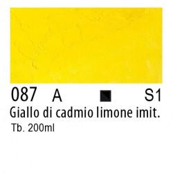 087 - W&N Olio Winton Giallo di cadmio limone imitazione