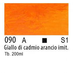 090 - W&N Winton Giallo di cadmio arancio imitazione
