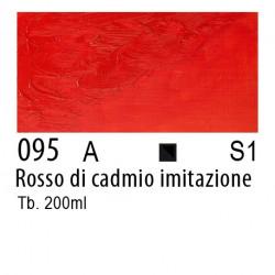095 - W&N Olio Winton Rosso di cadmio imitazione