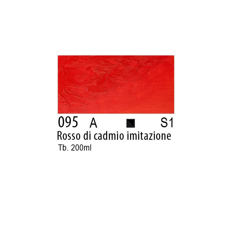 095 - W&N Winton Rosso di cadmio imitazione