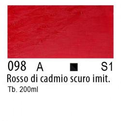 098 - W&N Winton Rosso di cadmio scuro imitazione