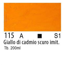 115 - W&N Olio Winton Giallo di cadmio scuro imitazione
